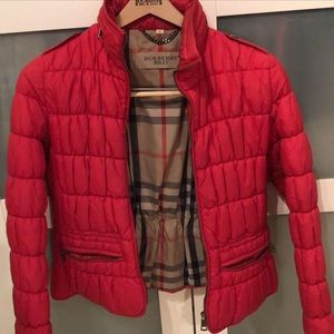 Authentic Burberry Puffer jacket